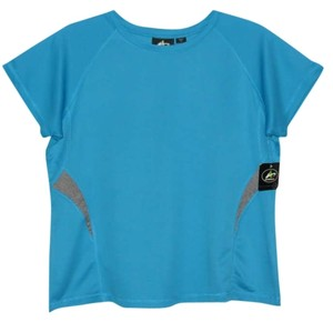 Other Size 1X Athletech Blue Short Sleeve