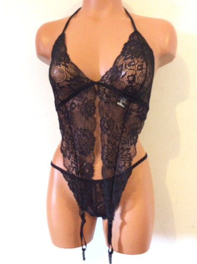 Other Brand New Black Chemise Lingerie Set size OS