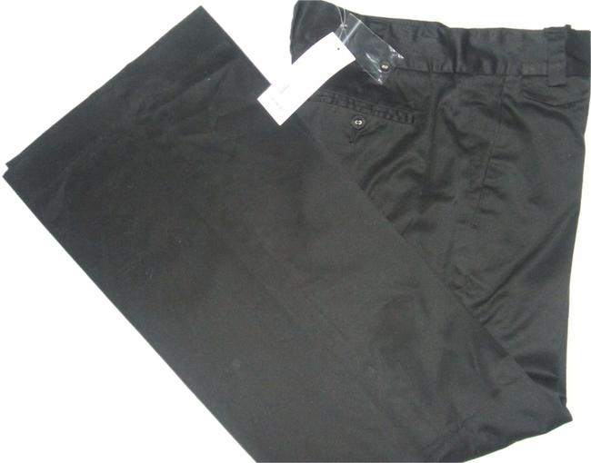 French Connection Straight Pants Black