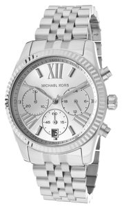 Michael Kors Michael Kors Women's Chronograph Lexington Stainless Steel Bracelet Watch 38mm MK5555