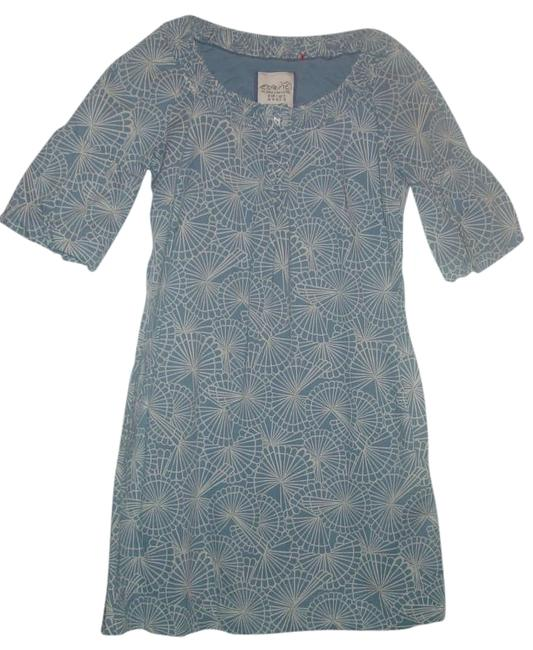 Esprit short dress Blue/white on Tradesy
