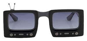 Jeremy Scott Jeremy Scott x Linda Farrow TV Sunglasses