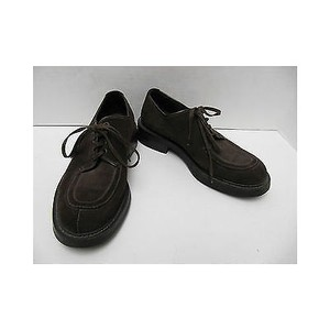 Mens Prada Brown Suede Dress Shoes Lace Up Oxfords Tie