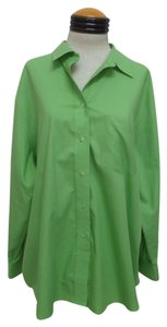 Foxcroft Button Down Shirt Green