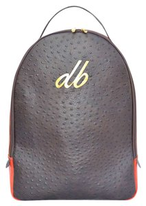 db Luxury Leather Ostrich Backpack