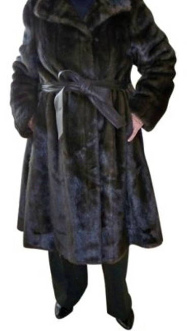 Illusion by Sherry Cassin Fur Coat