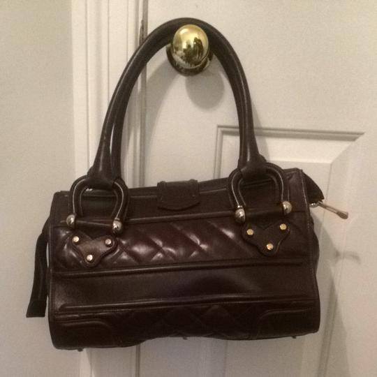Burberry Satchel in Oxblood