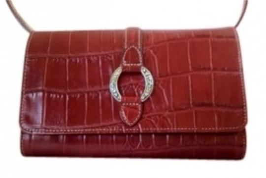 Preload https://item5.tradesy.com/images/brighton-crocodile-embossed-tri-fold-wallet-red-leather-clutch-35929-0-0.jpg?width=440&height=440
