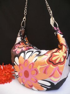Other Women Spring Flowers Beach Pink Red Handbag Chain Handmade Shoulder Bag