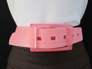 Other Women Belt Fashion Waist Hip Scented Plastic Pink Plus 38-42