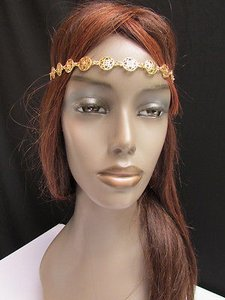 Other Women Head Chain Fashion Gold Stars Bubble Jewelry Design Stylish Look