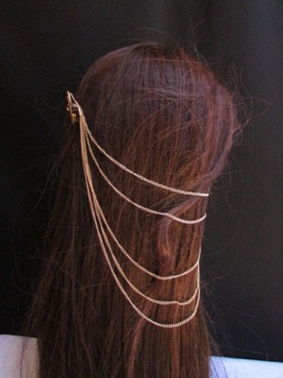 Preload https://item3.tradesy.com/images/women-hair-pin-cross-gold-chains-cuff-earring-to-connected-headband-claw-3594622-0-0.jpg?width=440&height=440