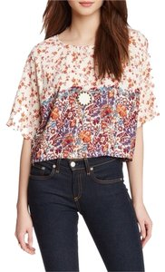 House of Harlow 1960 Top Floral