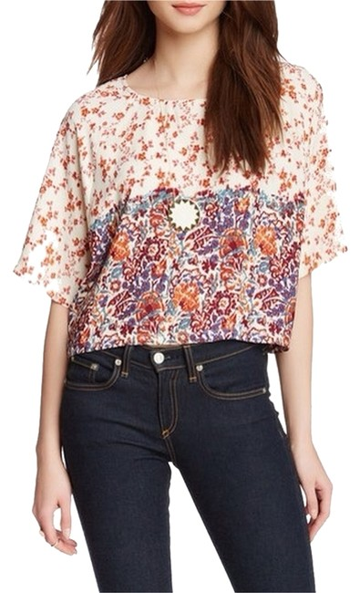 Preload https://item4.tradesy.com/images/house-of-harlow-1960-floral-fig-crop-blouse-size-12-l-3594823-0-0.jpg?width=400&height=650