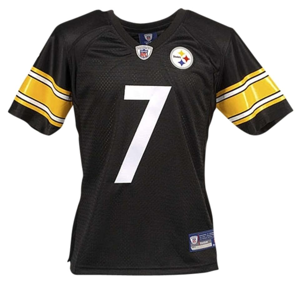 e391afd11 Reebok Black Nfl Women s Pittsburgh Steelers Ben Roethlisberger Game ...