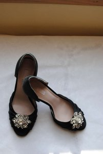 Glint Black Satin Formal Size US 8