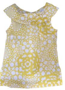 Trina Turk NWT Sleveless Top Solar yellow