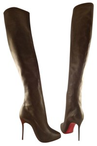 Christian Louboutin Taupe Boots