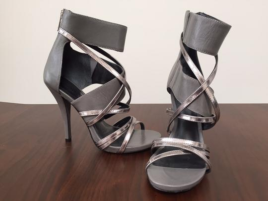 DKNY Grey and Silver Formal