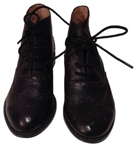 F-Troupe Leather Flat Black Boots