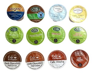 Keurig 24 k-cups 12 different flavors