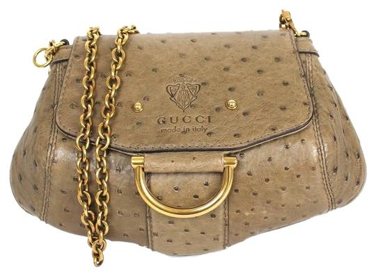 Preload https://item1.tradesy.com/images/gucci-olive-green-nuetral-ostrich-cross-body-bag-3602905-0-0.jpg?width=440&height=440