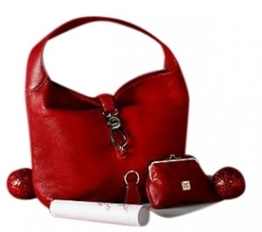 Preload https://img-static.tradesy.com/item/36034/dooney-and-bourke-with-logo-lock-and-ac-red-leather-hobo-bag-0-0-540-540.jpg
