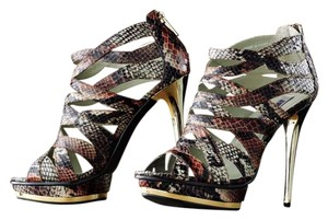 Jennifer Lopez Brown/Multi Sandals
