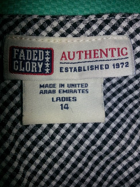 Faded Glory short dress Black & White on Tradesy