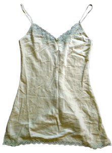Victoria's Secret Silk Top Pale Green