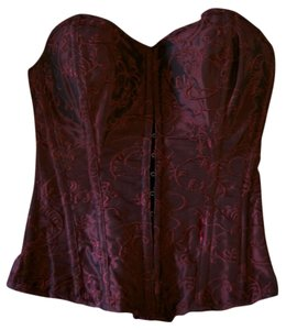 Be Wicked Top Burgundy