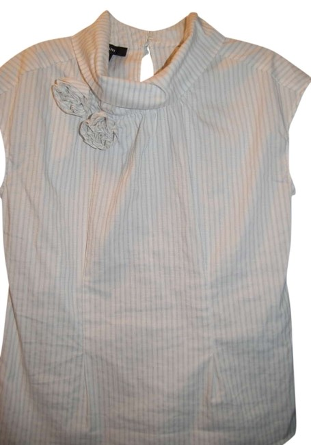 Alfani Top White/Grey