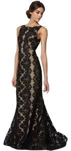Alice + Olivia And Gown Lace Mermaid Floor Length Gown &olivia Dress