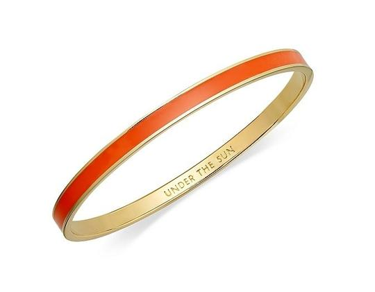 Preload https://item4.tradesy.com/images/kate-spade-orange-under-the-sun-idiom-bangle-bracelet-360763-0-0.jpg?width=440&height=440