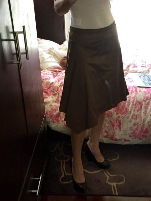 "Louis Vuitton Skirt ""cofe with milk"""
