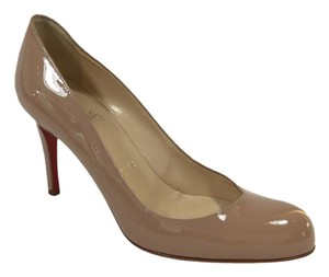 Christian Louboutin Simple Nude Pumps