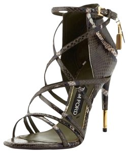 Tom Ford Military Green Sandals