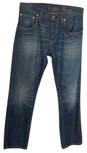 Escada Soft Straight Leg Jeans-Distressed
