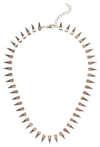 HINT OF SPARKLE SPIKE NECKLACE