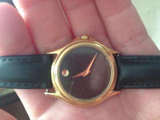 Movado Black Movado Ladies Watch