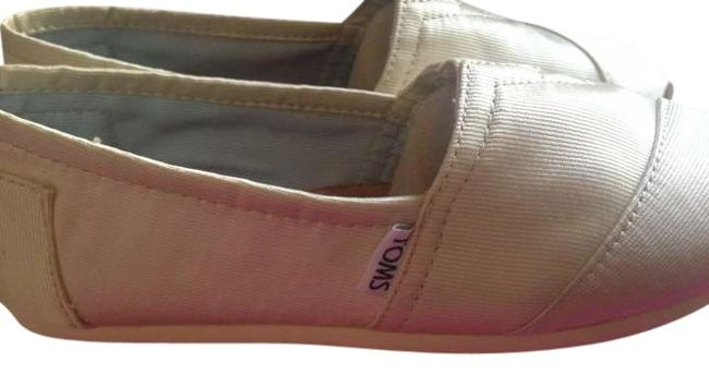 Item - Ivory Grossgrain Wedding Collection Flats Size US 8
