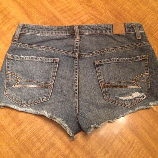 American Eagle Outfitters High Waisted Daisy Dukes Cut Off Shorts Denim