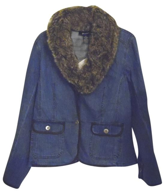 Preload https://item2.tradesy.com/images/denim-and-co-blue-with-faux-fur-collar-large-denim-jacket-size-14-l-3611251-0-0.jpg?width=400&height=650