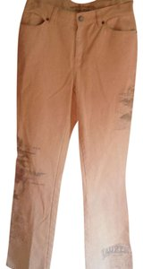 Ralph Lauren Vintage Jeans Boot Cut Pants Tan