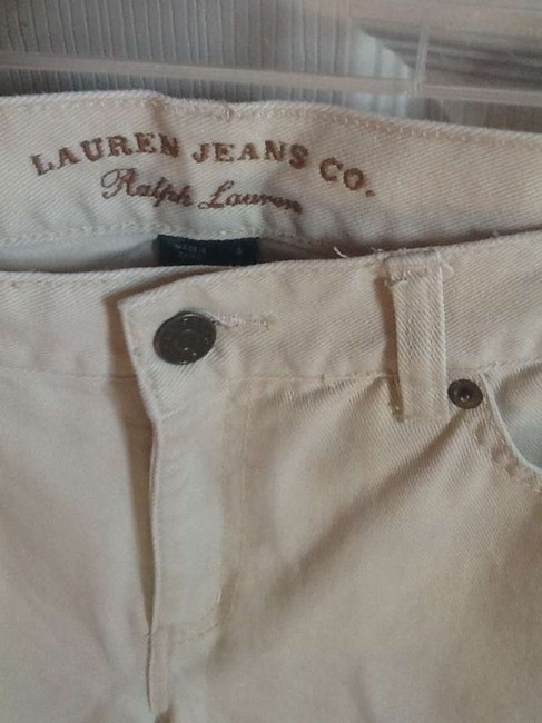 Ralph Lauren Vintage Jeans Denim Denim Co. Boot Cut Pants Tan