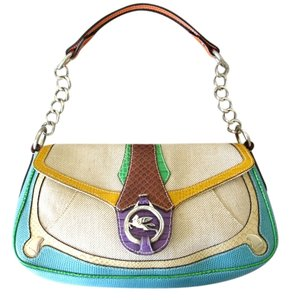 Etro Color Canvas Special Edition -colored Shoulder Bag