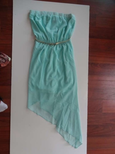 Teal Maxi Dress by 2b bebe Glitter