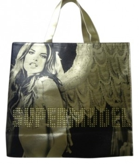Preload https://img-static.tradesy.com/item/36129/victoria-s-secret-super-model-metallic-gold-and-black-pvc-tote-0-0-540-540.jpg