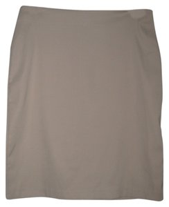 Star City Pencil Skirt Tan