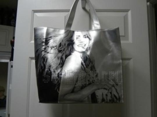 Victoria's Secret Tote in silver/black